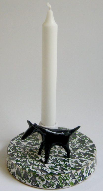 ljusstakar i keramik